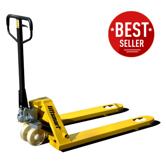 Liftsmart Hand Pallet Jack Nylon Wheels
