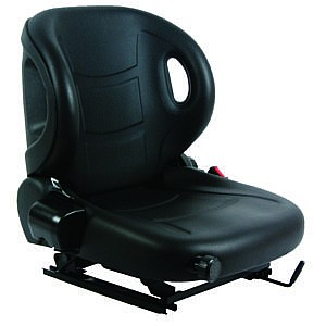 Forklift Seat - Wingback Style Suspension